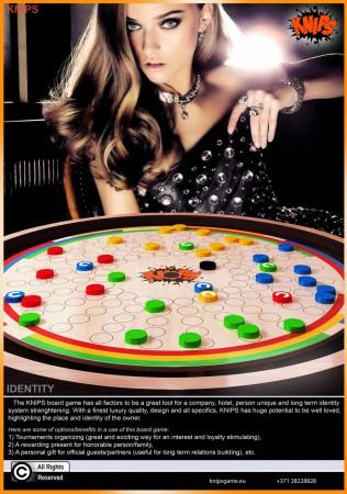 Board game KNIPS