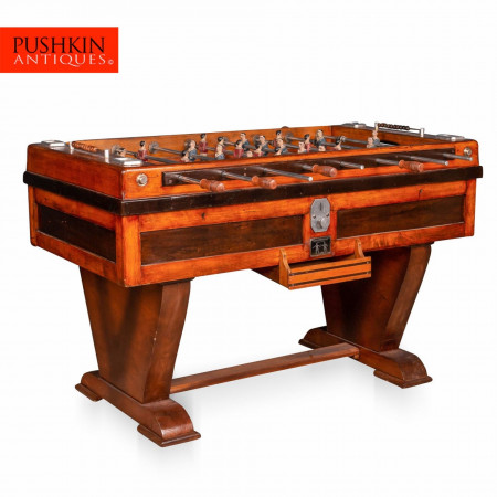 BEAUTIFUL MID 20TH CENTURY FRENCH TABLE FOOTBALL GAME