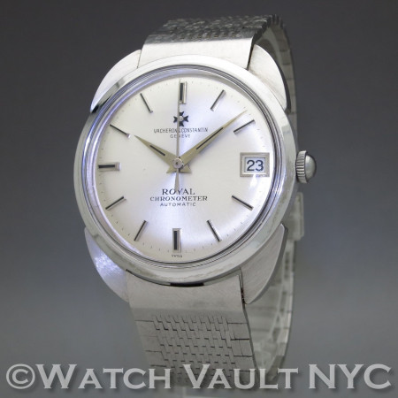 Vacheron & Constantin Royal Chronometer 6694 Batman 18K White Gold Vintage PK401