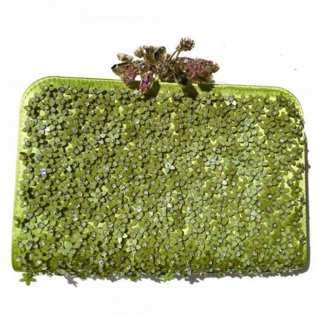 Valentino Garavani Glam Glam Flower Frame Minauduere Clutch