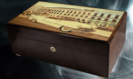 Luxury Humidor for Cigars by Conocedor Finland
