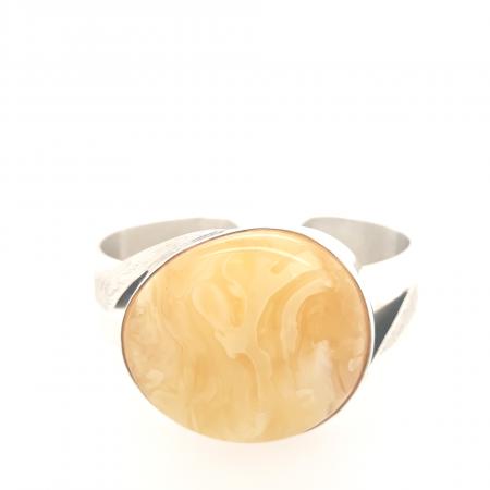 Natural Baltic Amber Bangle