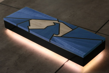 Silverstone Accessory box Blue