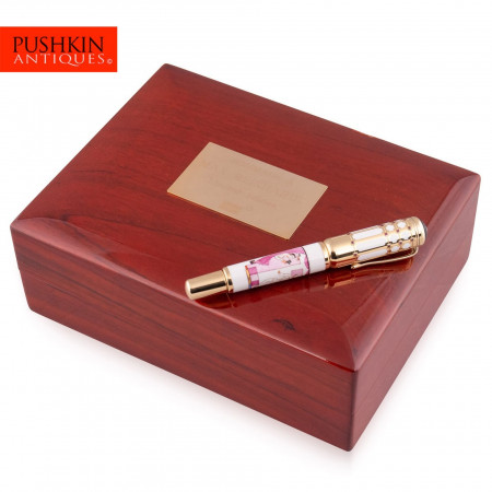 MONTBLANC 5/10 LIMITED EDITION MAX REINHARDT RUBY FOUNTAIN PEN 2003