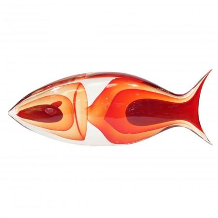 Romano Dona Glass Fish Sculpture