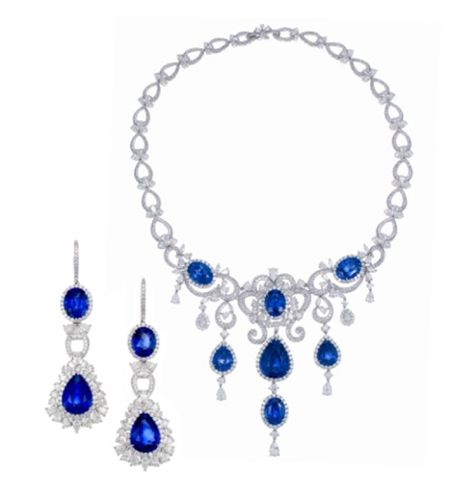 A Suite of Sapphire and Diamond