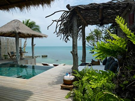 1 Bedroom Ocean View Villa on a Private Island Resort