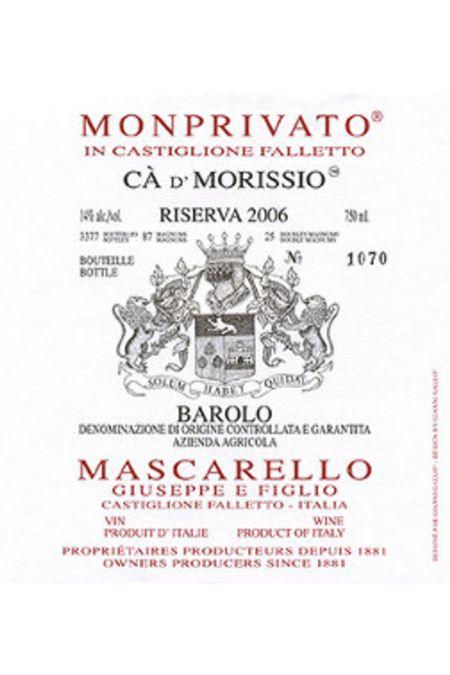 2006 Mascarello Ca d'Morissio Riserva
