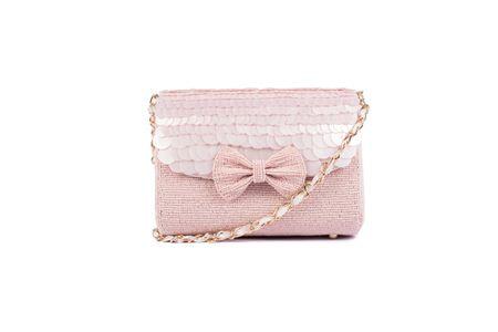 Ruche & Hues Angel Glow Baguette Pink - Handmade