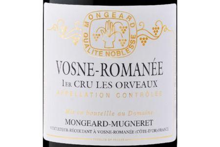 2012 Mongeard-Mugneret Vosne 1er Orveaux