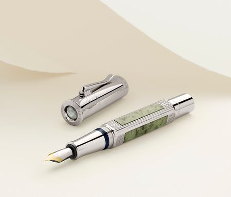 GRAF VON FABER CASTELL PEN OF THE YEAR 2015 PLATINUM-PLATED - LIMITED EDITION