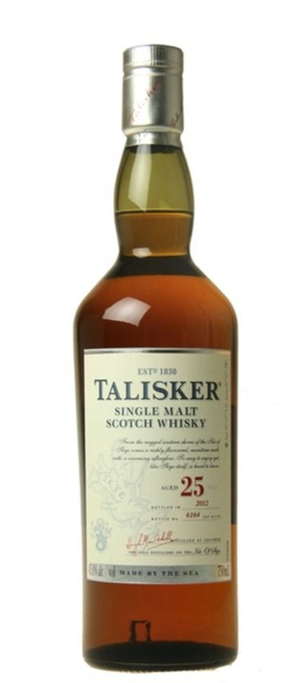 Talisker Single Malt Scotch Whisky 25 years