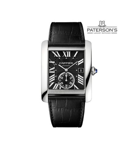 Cartier Tank MC Black Dial