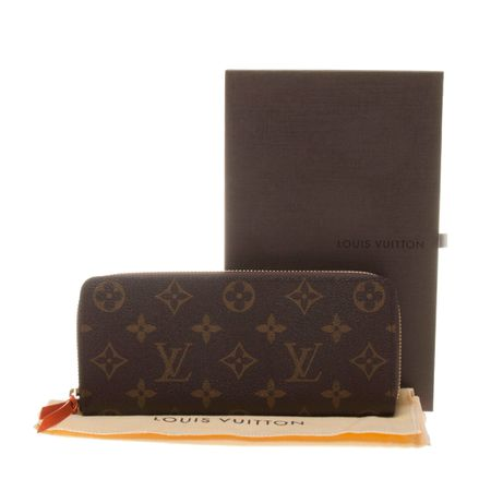 Louis Vuitton M60743 Monogram Canvas Clémence Wallet