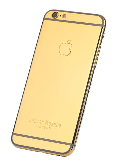 24ct Gold iPhone 6s Plus ( By Julian Monroe London)
