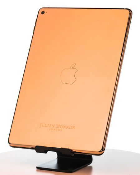 18ct Rose Gold iPad Mini 4 (By Julian Monroe London)