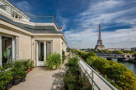 PARIS (16E ARR.) - BORDS DE SEINE - PENTHOUSE TERRASSE