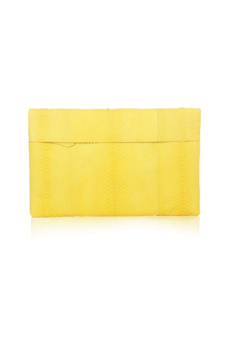 Folder Clutch GM - Mustard Yellow