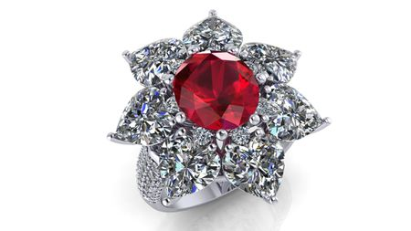 Ruby Ring 4.03 carats