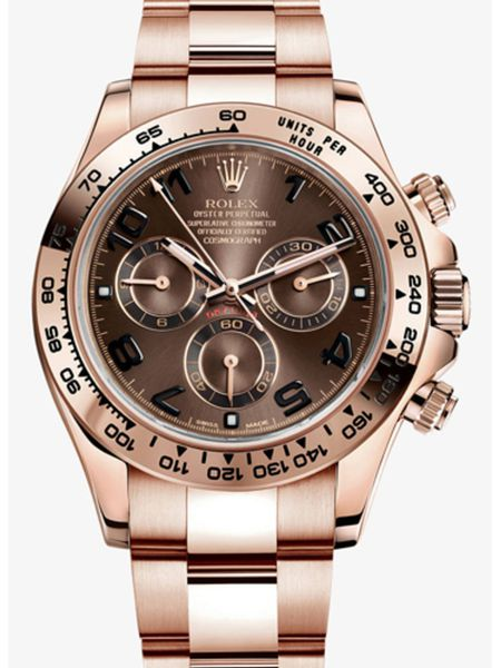 Rolex Oyster Perpetual Cosmograph Daytona Rose Gold Chocolate Dial