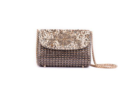 Ruche & Hues Metallic Bling Baguette - Handmade (Limited Edition)
