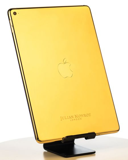 24ct Gold iPad Air 2 ( By Julian Monroe London)