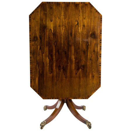 Early 19th Century Rosewood Breakfast Table