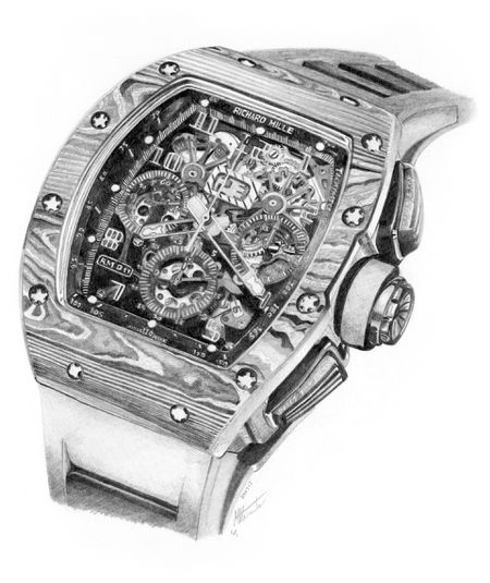 Richard Mille RM011 (Artwork)