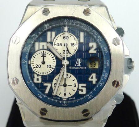 Audemars Piguet Blue Theme Offshore Chronograph Ref 25721ST