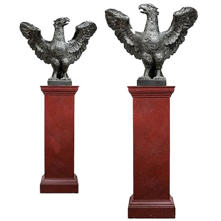 Pair of Regal Eagles