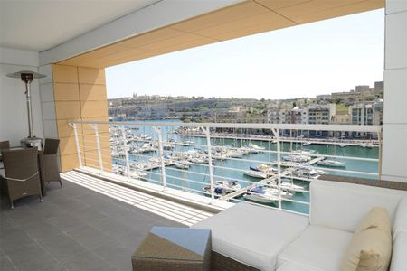 Seafront Apartment with Marina Views