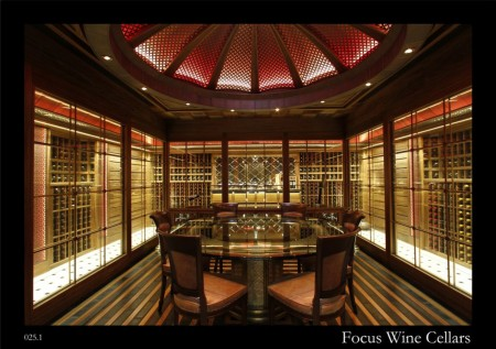 Private Wine Cellar at the Bosphorus