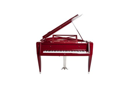 The piano « 1937 » ‐ Red Naccarat lacquer