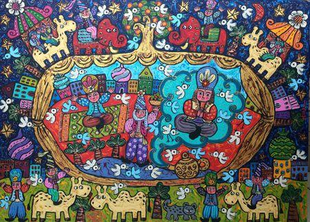 Happy 1001 Night Aladin
