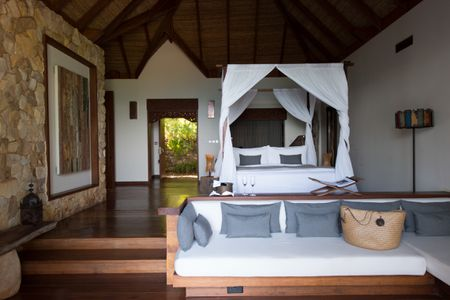 One Bedroom Jungle Villas on a Private Island Resort