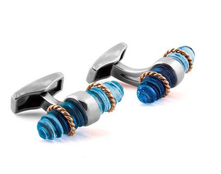 Tateossian Royal Cable Cufflinks