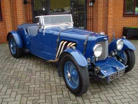 1933 Aston Martin Le Mans Coachwork