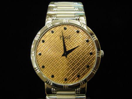 Piaget Gold Dial Vintage