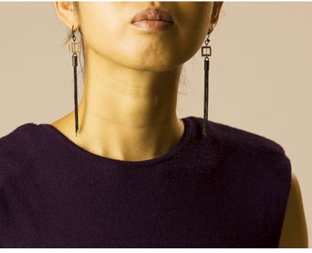 Cubist Fringe Earrings