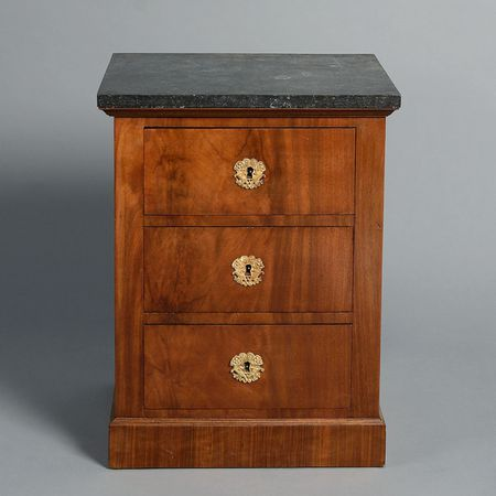 An Empire Period Bedside Cabinet