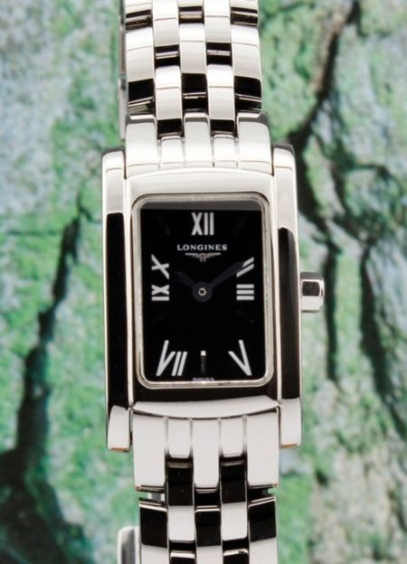 LONGINES DOLCE VITA LADY SIZE STAINLESS STEEL WATCH