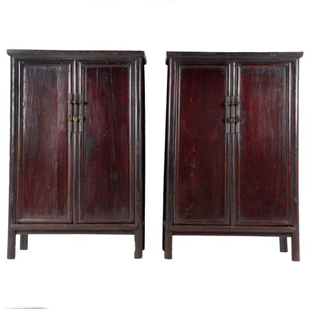 Pair of Chinese Cabinets c.1860