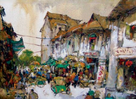 Tong Chin Sye, Sungei Road (Thief Market)