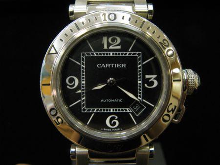 Cartier Black Dial