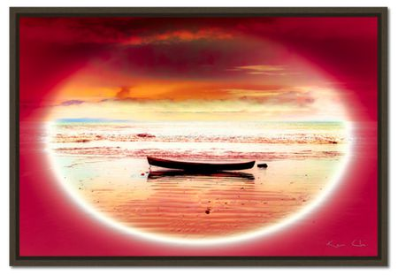 Nuqui Boat no.1 Gold Pink by Ken Chi